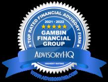 financial advisory hq award badge