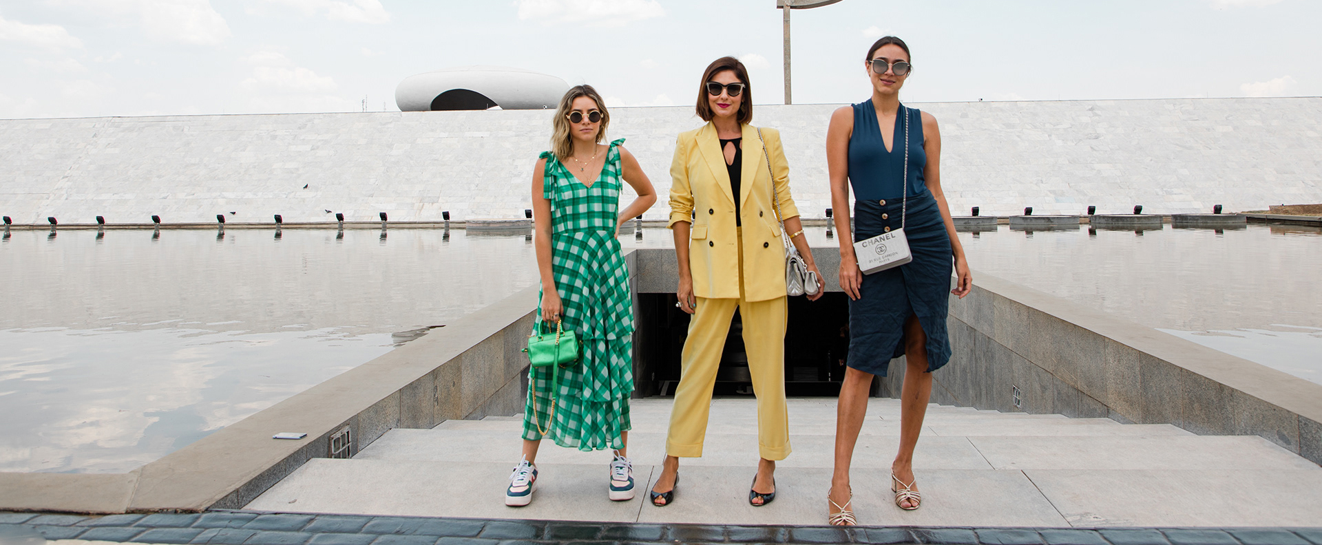 Three well dressed millennial women who are financially stable